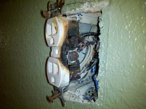 When electrical outlets get old they fail. Dont let something that costs 95 cents be the cause of a fire in your home.