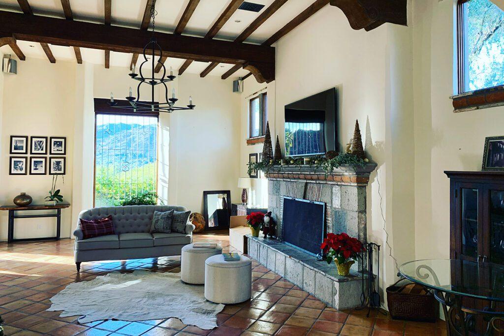 Arizona Home - Living Room View