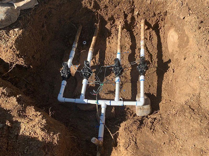 Irrigation Sprinkler System